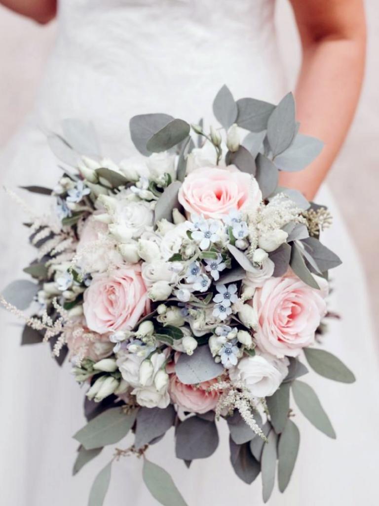 wedding bouquet native flowers